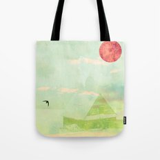 Snow House Tote Bag