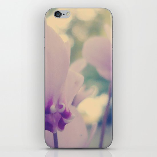 cyclamen iPhone & iPod Skin