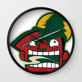 Minnesota Rabid Team Logo Wall Clock