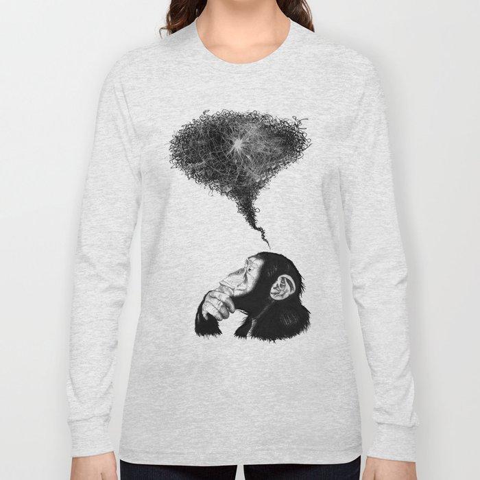 Chimpistotle Long Sleeve T-shirt