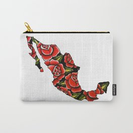 Mexico Map Carry-All Pouch