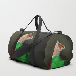 Portrait of the Fox and the Grapes Duffle Bag