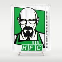 cook Shower Curtains featuring The Cook by Ferguccio