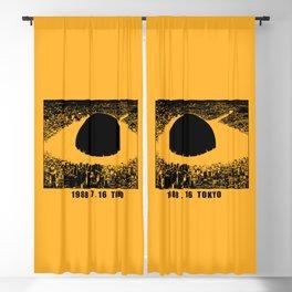 1988 7 16 Tokio v3 Blackout Curtain