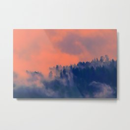 sun fog Metal Print
