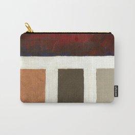 Textured Cubism -Modern Art - Office Art - Hospitality Art Carry-All Pouch