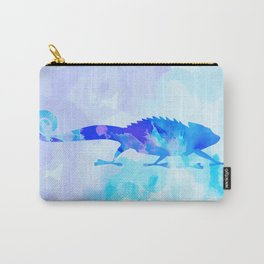 Abstract Chameleon Reptile Carry-All Pouch
