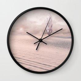 Serpentine Egg - Science Fiction desert Wall Clock