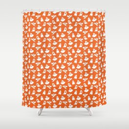 Ghosts // Halloween Collection Shower Curtain