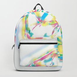 rainbow mandala Backpack