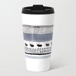 Pattern / Nr. 1 Metal Travel Mug