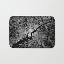 philadelphia map Bath Mat
