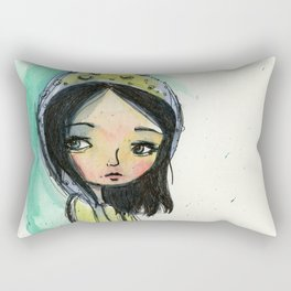 The Garden Gnome Rectangular Pillow