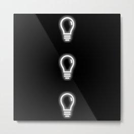 White Light Metal Print
