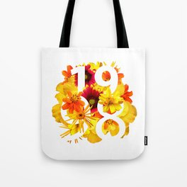 Flower 1998 Tote Bag