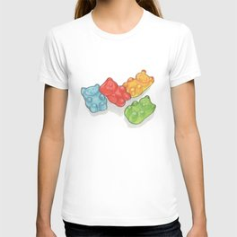 Candies & Sweets: Gummi Bears T-shirt