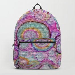 color bubbles Backpack
