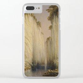 Edward Lear - The Marble Rocks - Nerbudda Jubbulpore Clear iPhone Case