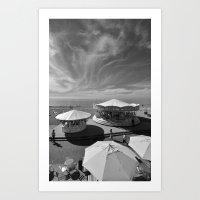 Summer in Brighton Art Print