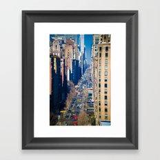5th Avenue Framed Art Print