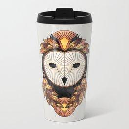 Owl 3 Metal Travel Mug
