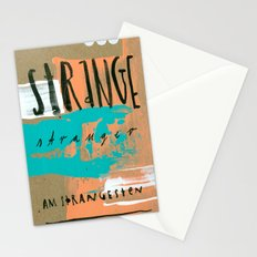 STRANGE stranger Stationery Cards