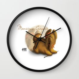 Monsieur Croquis Wall Clock