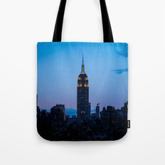 Empire State Building at Sunset Tote Bag