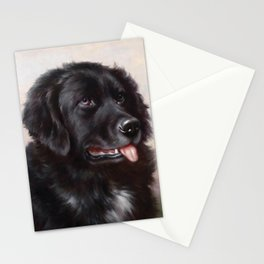 The Newfoundland Dog - Carl Reichert Stationery Cards