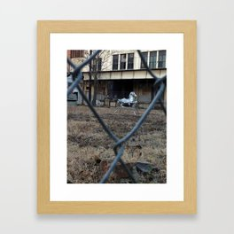 The Silver Hobby Horse 1 Framed Art Print