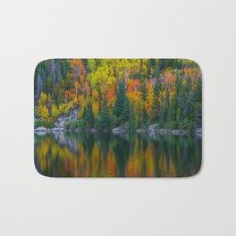 Reflections of Autumn Bath Mat