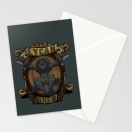 Lycan Brew Stationery Cards