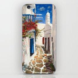 Mykonos Town, Greece iPhone Skin