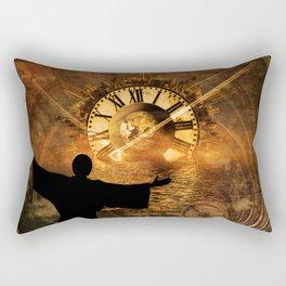Master of Time Rectangular Pillow