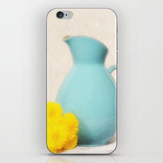 The Yellow Mums iPhone & iPod Skin