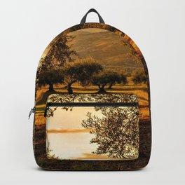 Olive Groves Along the Mountainside Backpack