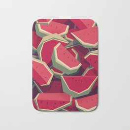 Too many watermelons Bath Mat
