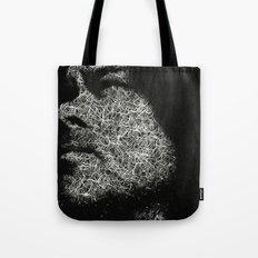 Monochrome portrait Tote Bag