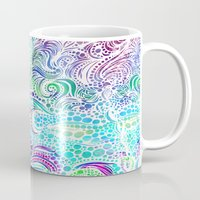 under the sea Mugs featuring Under the Sea by Doodle Design