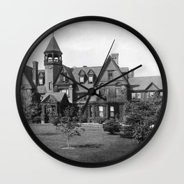1878 Original Gilded Age Breakers Mansion, Newport, Rhode Island Wall Clock