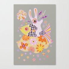 Fish Rider Canvas Print
