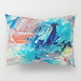 Contemporary Abstract Splash Landing Pillow Sham