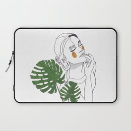 Green Time in the Meantime - 1 Laptop Sleeve