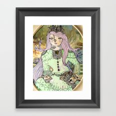 Princess Flora Framed Art Print