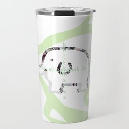 fish/elephant/brittmarks Travel Mug