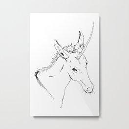 Unicornis Metal Print