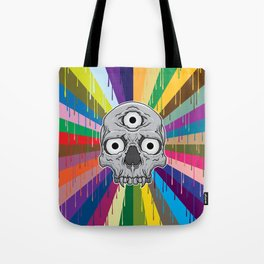 3 Eyed Jackass Tote Bag