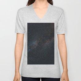 Glitter Stars Unisex V-Neck