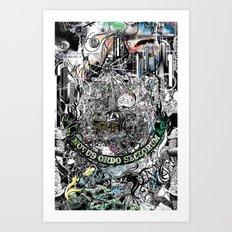 Untold Truth Art Print
