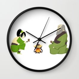 Cup of Tea with Iroh Wall Clock